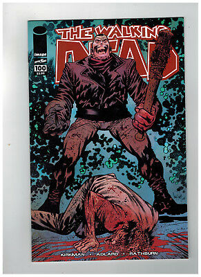 THE WALKING DEAD #100  15th Anniversary - Color Variant      / 2018 Image Comics