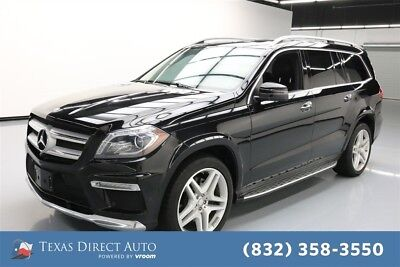2015 Mercedes-Benz GL-Class GL 550 Texas Direct Auto 2015 GL 550 Used Turbo 4.7L V8 32V Automatic AWD SUV Premium