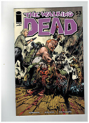 THE WALKING DEAD #53  15th Anniversary - Color Variant       / 2018 Image Comics