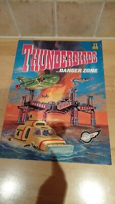 Thunderbirds Danger Zone 1992 Comic Annual Good Condition