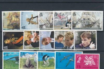 [120244] Tristan De Cunha good lot of stamps very fine MNH