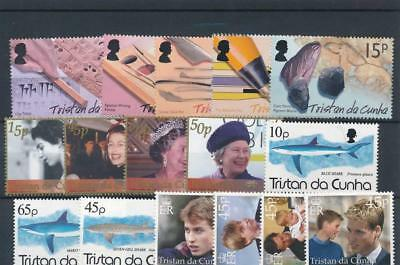 [120248] Tristan De Cunha good lot of stamps very fine MNH