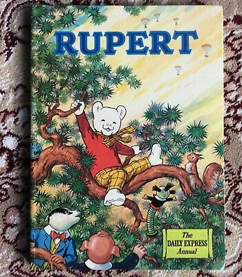 Near Mint Copy Of The Rupert Annual 1973