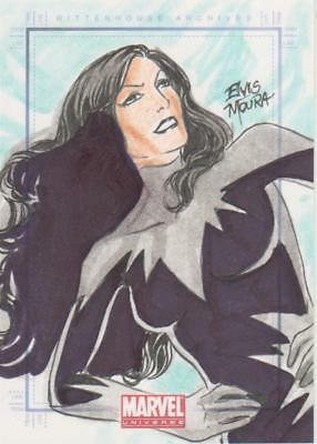Marvel Universe 2011 -  Color Sketch Card by Moura