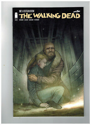 THE WALKING DEAD #167  15th Anniversary - Color Variant      / 2018 Image Comics