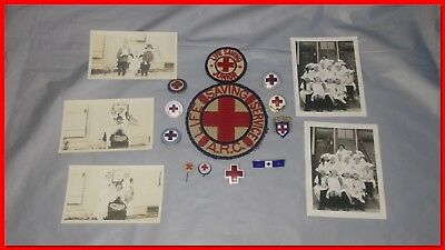 WW1 & WW2 American Red Cross Grouping ARC