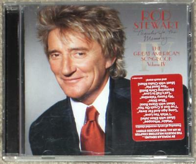 Cd Sale!!! ~ Rod Stewart ~ Thanks For The Memory ~ Great American Songbook Iv