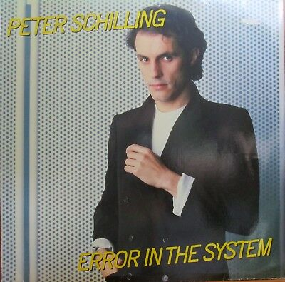 Lp -  Peter Schilling = Error In The System - Songtexte (In Englisch Gesungen)