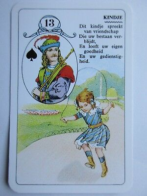 Lenormand Wahrsage Kartenspiel. Belgien. Great Lenormand prophecy deck. Belgium.