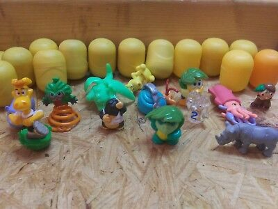 Kinder Egg Toy Lot 100 + pieces smurf more! Stocking stuffer!