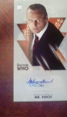 Anthony Head as Mr. Finch Autograph - Doctor Who Widevision - 03/25 - Topps