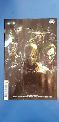 Deathstroke #36 Francesco Mattina Rare Cover B Variant