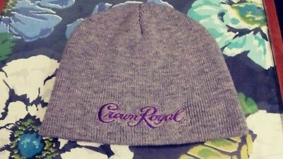 Cool Crown Royal Knit Beanie Hat Cap One Size New No Tags