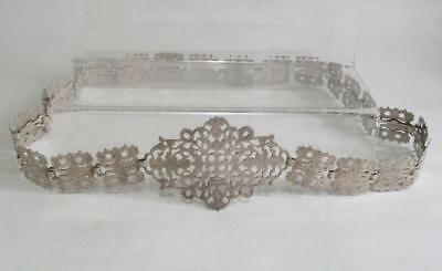 Antique Decorative EPNS Belt - approx 27""