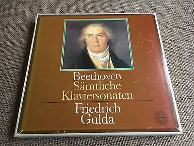 Beethoven Complete Piano Sonatas GULDA ORIG AMADEO 11 LP BOX 906434/44 ASY MINT