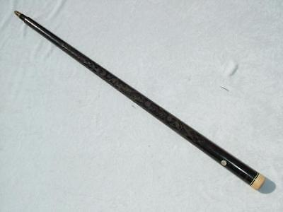 Antique Walking Stick Cane Converted Old Snooker Cue