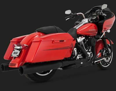 Vance and Hines Power Duals for 2017 - UP HD Touring Models - Black