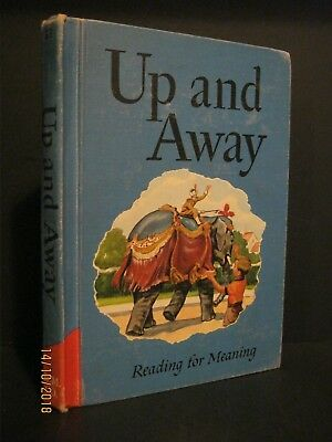 Antique - Up And Away - Children's Reading For Meaning - Book - 1949 / 1957