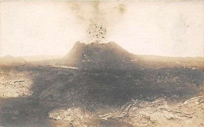 LP36 Hawaii Volcano  Hawaiian Islands RPPC  Vintage Postcard