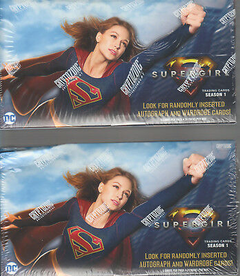 Supergirl Seasons 1  - Winner Gets 2 (TWO) Boxes  by CRYPTOZOIC