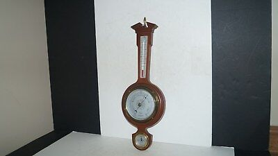 Taylor Usa Wall Hanging Wood Barometer Thermometer Humidity Instrument - Nice