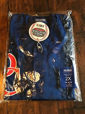 Men's OLD CHICAGO WORLD BEER TOUR JERSEY EXPLORE BEER SIZE 2xl