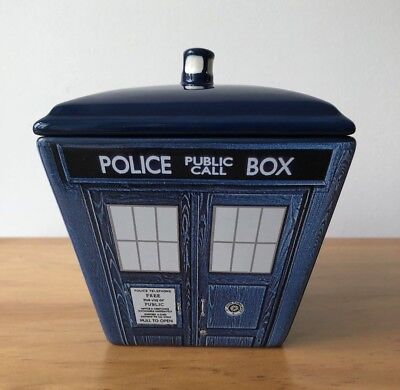 Doctor Who - Rare Unique Cookie, Candy, Soup and Anything Porcelain Container