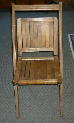 antique simmons mfg co wooden folding chair pat d feb 7 1893 rh picclick com  simmons company wooden chairs