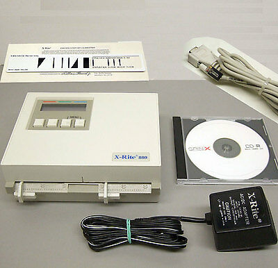 X-Rite 880 Color Densitometer Photographic & Graphics arts Excellent condition