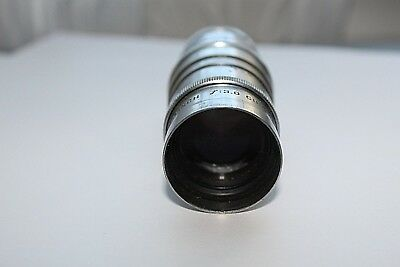 Cinematar 3 Inch Telephoto Lens f:3.0 Camera Projector Elgeet