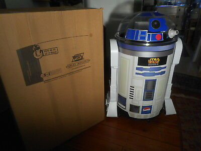 R2D2 Life Size Pepsi Store Display Cooler Star Wars NEW opened box PREFER PICKUP
