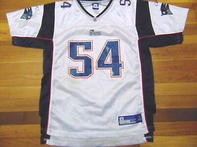 Reebok Nfl Equipment New England Patriots Tedy Bruschi Blue Jersey Youth  Size Xl e115b8b58
