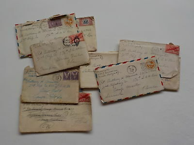 11 WWII Letters Soldier North Bergen New Jersey Drew Field Florida WW2