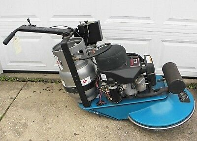"Eagle 21"" Walk-Behind Propane Floor Burnisher 17 HP Engine Low Hours"