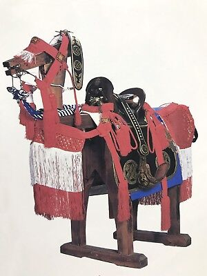 Usable Historically Accurate Edo Japanese Samurai Armor Bagu Horse Saddlery Set
