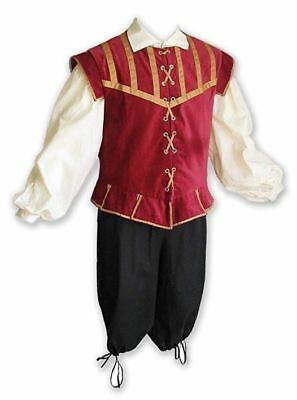 Plus Size Medieval Halloween Costume King Game of Thrones Pirate Renaissance