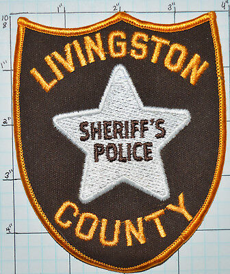 Illinois, Livingston County Sheriff's Police Patch