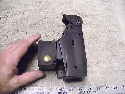 Black Plastic Duty TAZER Holster with extra Cartridge Holder Attached, Trade In