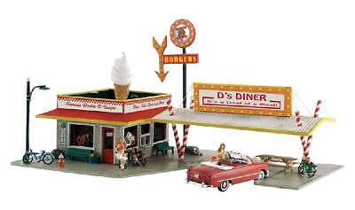 Woodland Scenics DS Diner - N Scale Kit 724771052081