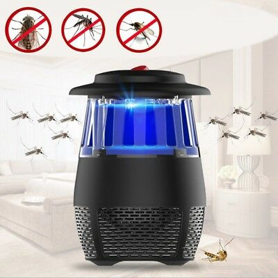 Electric Insect Mosquito Fly Killer Bug Zapper LED Trap Lamp Home Indoor AU new