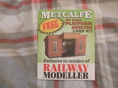 Metcalfe - Platform Shelter - Unmade Model Railway Kit - OO gauge