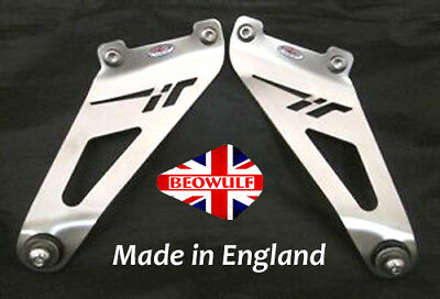 Tuono 1000 R Factory (06-10) Stainless Steel Exhaust Hanging Brackets Beowulf