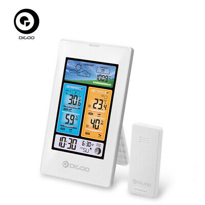 DIGOO DG-EX003Color Thermometer Wireless Weather Forecast Station Outdoor Sensor
