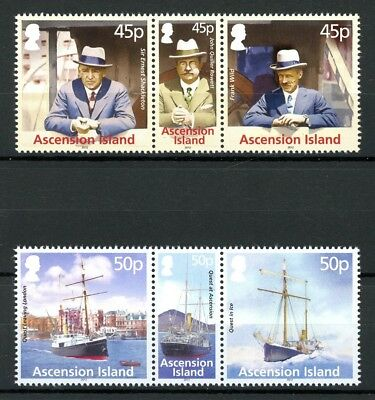 Ascension MiNr. 1180-85 postfrisch/ MNH Expedition (W3106
