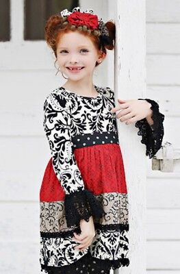 NWT Girl Mustard Pie Enchanted Holiday Collection Avery Dress sz 2T