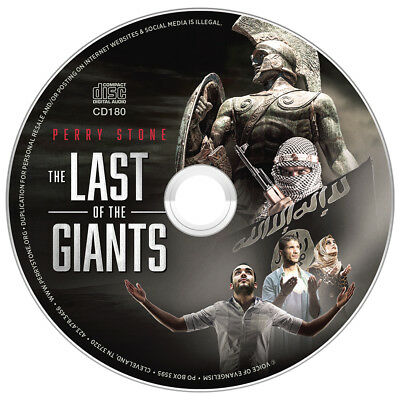 """PERRY STONE""""Last Of The Giants-God's Surprise Move """"-CD New released Jan. 2018"""