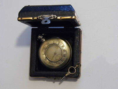 Beautiful Antique London Hallmarked Solid Silver Fusee Pocket Watch Dated 1867.