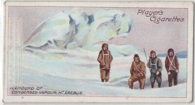 Volcanic Fumarole Icemound Mount Erebus Antarctic South Pole c100 Y/O Trade Card