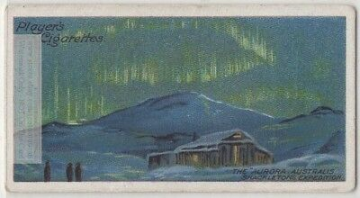 Aurora Australis Shackleton Expedition  Antarctic 1908 c100 Y/O Trade Card