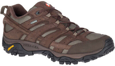 Merrell Moab 2 Smooth Gore-Tex Mens Walking Shoes - Brown